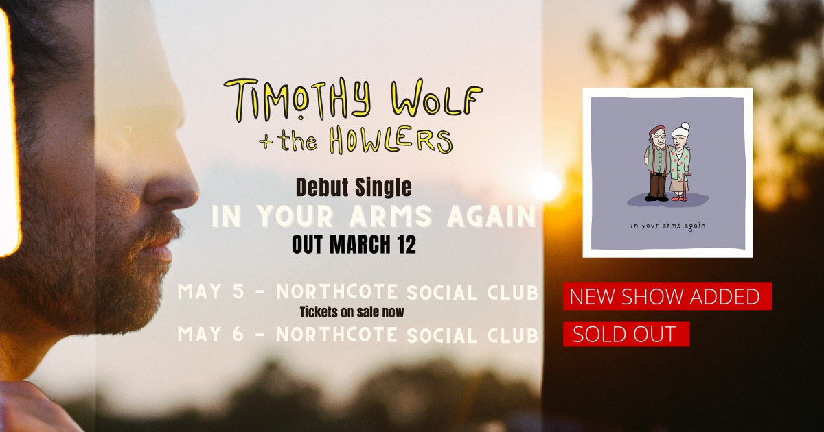 Timothy Wolf tickets