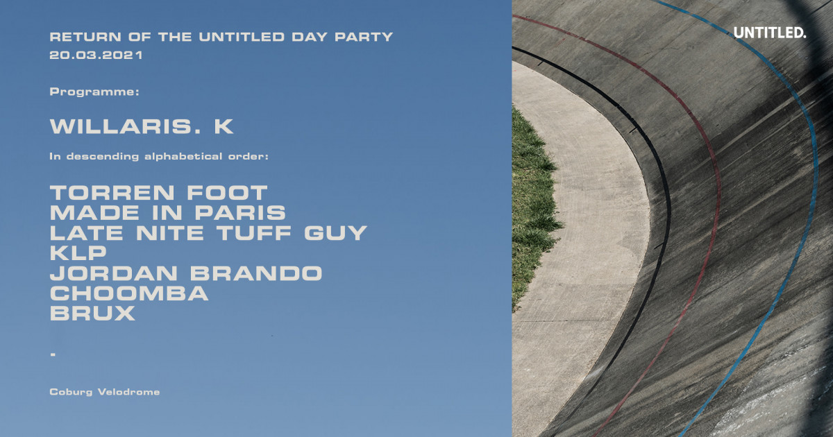 Return of The Untitled Day Party tickets