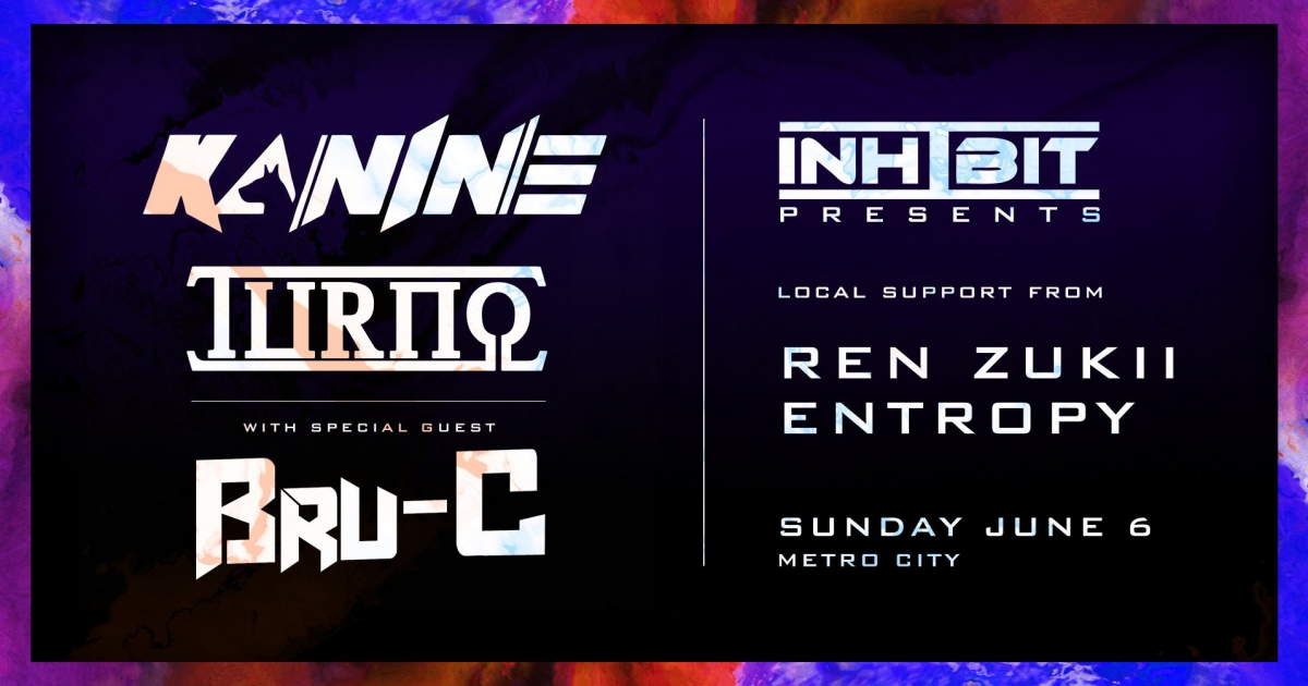 Inhibit Presents Kanine & Turno + special guest Bru-C tickets